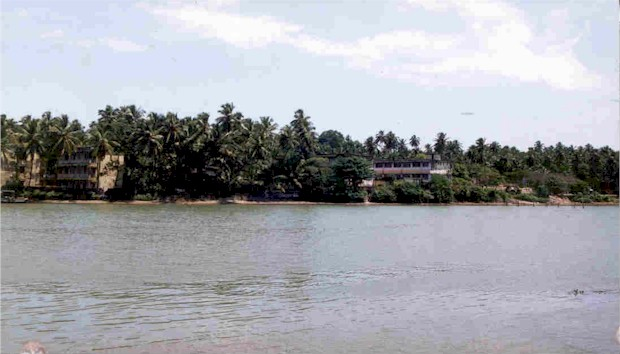 Government House view from Mahe bridge